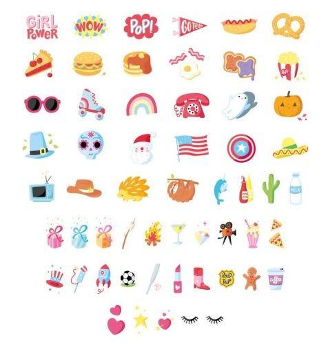 Lightbox letter set: American Dreams