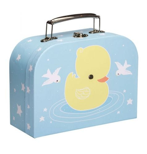 little suitcase duck front