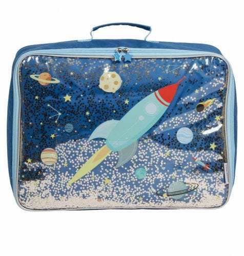 Suitcase: Glitter - space